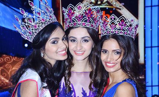 Aditi Arya crowned as Miss India 2015