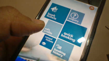 Railway launched mobile app for paperless unreserved tickets
