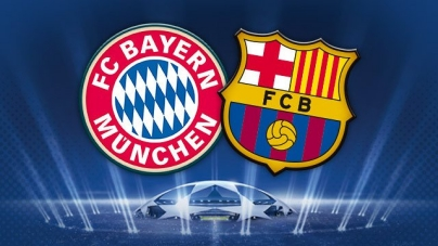 FC Barcelona take on Bayern munich in the champions league Semifinals