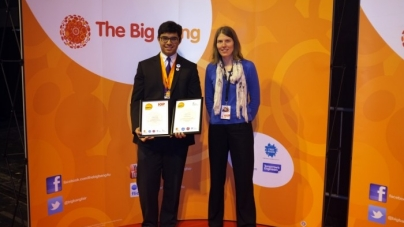 INDIAN  KID WINS INSTITUTE OF PHYSICS PRIZE