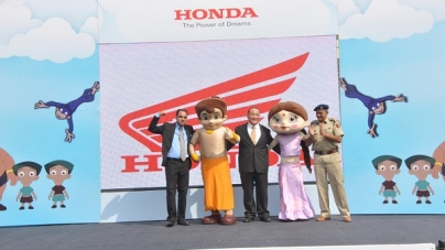 HONDA TAKING INITIATIVE FOR TRAFFIC SAFETY
