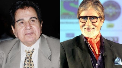 Dilip Kumar, Amitabh Bachchan conferred with Padma Vibhushan !!