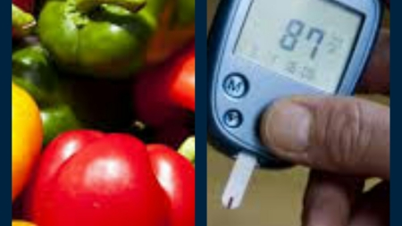 Coloured Capsicums can control diabetes