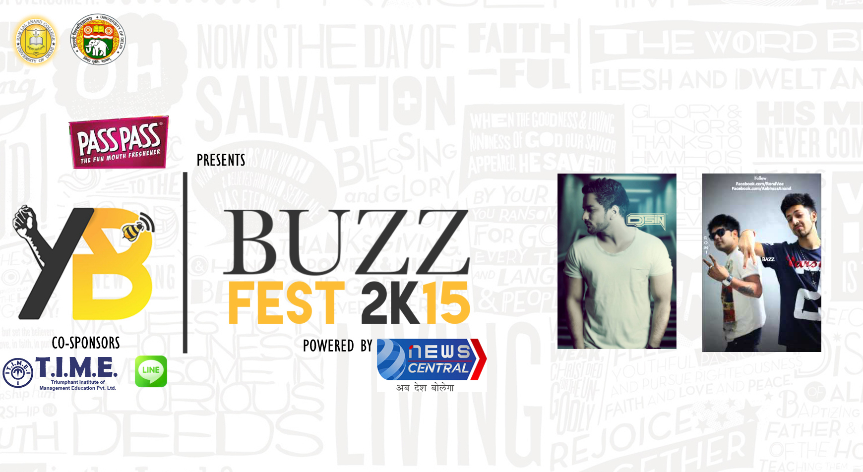 Tonight At Buzz Fest 2k15