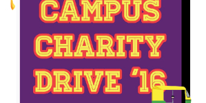 First Annual Campus Charity Drive 2016