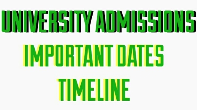 DU Admission ? These are Important dates for you